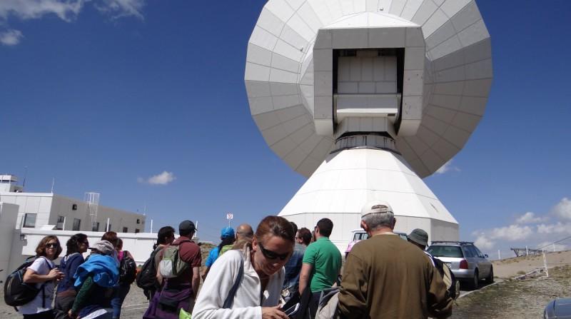 observatorio astronómico sierra nevada visitas iaa